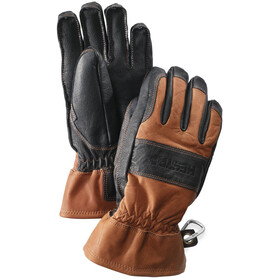 Hestra Fält Guide Gants, brown/black